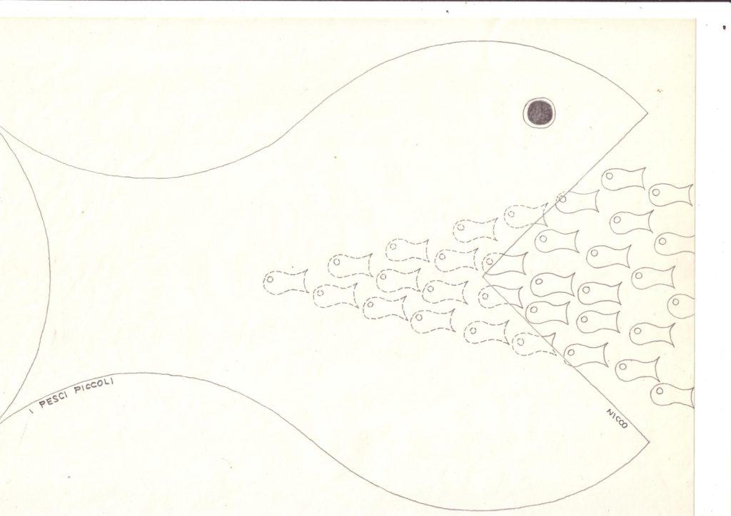 I pesci piccoli  (dis. di NICCO)0001